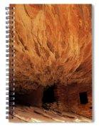 House On Fire Ruin Spiral Notebook