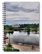 Hoyt Lake Delaware Park 0004 Spiral Notebook