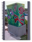 Hummingbird Traffic Signal Box Spiral Notebook