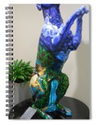 Hunt For The Unicorn On A Full Moon Spiral Notebook