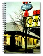 I Went For Breakfast At The Double R Spiral Notebook