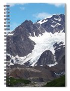 Ice And Snow Spiral Notebook