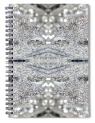 Ice Storm Abstract Spiral Notebook
