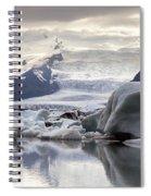 iceland Jokulsarlon Spiral Notebook