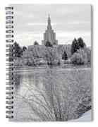 Idaho Falls Temple Spiral Notebook