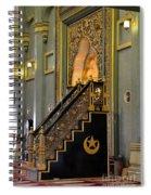 Imam Pulpit Sultan Mosque Singapore Spiral Notebook