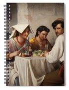 In A Roman Osteria Spiral Notebook