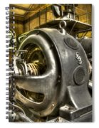 In The Ship-lift Engine Room Spiral Notebook
