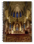 Inside St Patricks Cathedral New York City Spiral Notebook