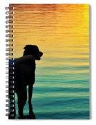 Island Spiral Notebook