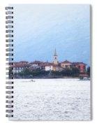 Isola Dei Pescatori Spiral Notebook