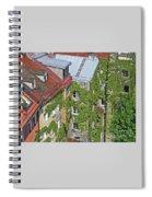 Ivy Courtyard Spiral Notebook