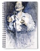 Jazz Billie Holiday Lady Sings The Blues  Spiral Notebook