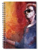 Jazz Miles Davis Spiral Notebook