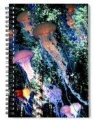 Jellyfish Forest Spiral Notebook