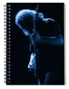 Jerry Blue Sillow Spiral Notebook