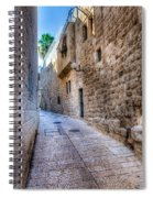 Jerusalem Street Spiral Notebook