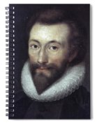 John Donne (1572-1631) Spiral Notebook