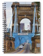 John Roebling Bridge 1867 Spiral Notebook