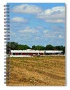 Kansas Farm Spiral Notebook
