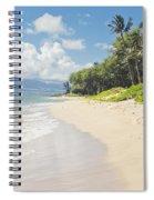 Kawililipoa Beach Kihei Maui Hawaii Spiral Notebook