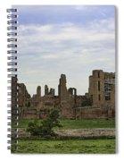 Kenilworth Castle Panorama Spiral Notebook