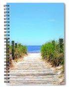 Key West Beach Spiral Notebook