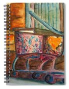 Kidnapped Cart Spiral Notebook