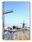 Kinderdijk Spiral Notebook