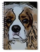 King Charles Art Spiral Notebook