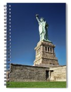 Lady Liberty 2 Spiral Notebook