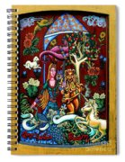 Lady Lion And Unicorn Spiral Notebook