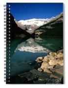 Lake Louise Iv Spiral Notebook