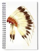 Lakota Headdress Spiral Notebook