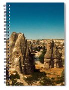 Landscape With The Caves And Fairy Spiral Notebook