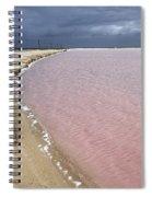 Las Coloradas Salt Flat Spiral Notebook