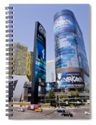 Las Vegas Strip Spiral Notebook