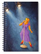 Latina Jazz Diva Spiral Notebook
