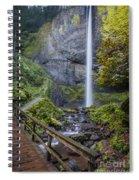 Latourell Falls Spiral Notebook