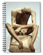 Lehmbruck's Seated Youth Spiral Notebook