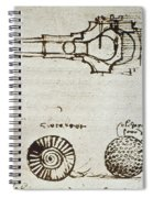 Leonardo Da Vinci Spiral Notebook