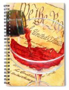 Let Freedom Ring Spiral Notebook