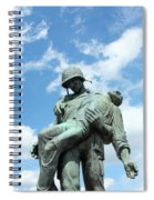 Liberation Monument Spiral Notebook