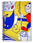 Lichtenstein's Look Mickey Spiral Notebook