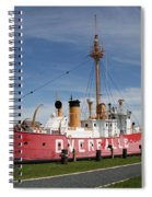 Light Vessel Overfalls Spiral Notebook