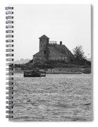 Lighthouse Island - Portland Maine Spiral Notebook