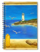 Lighthouse View Spiral Notebook