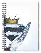 Liquid Coronet  Spiral Notebook