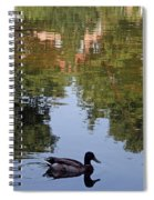 Living In Reflections Spiral Notebook