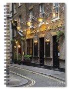London Pub Spiral Notebook